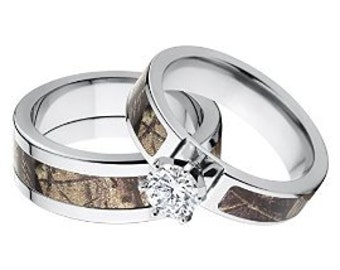 Realtree Camo Wedding Ring Sets