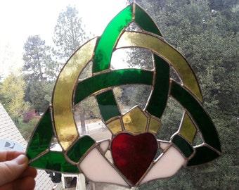 Eternity Triquetra Claddagh