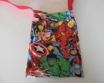 Over the shoulder Superhero Purse