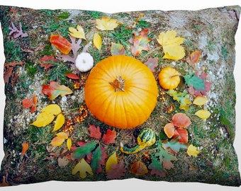 Decorative Nature Pillow - Autumn Mandala