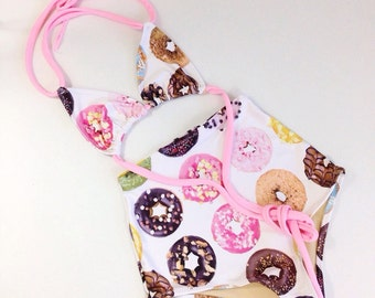 Donut retro swimsuit