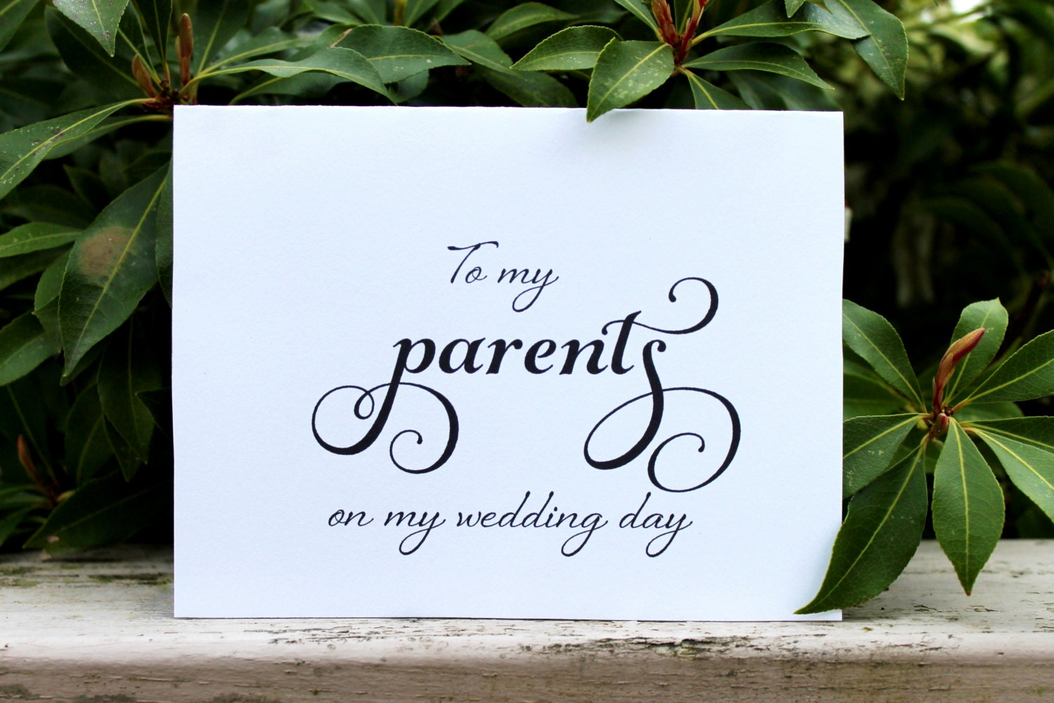 Wedding Gift Bags For Parents : Wedding Card Printable Card Parents Gift by OverTheMoonBridal