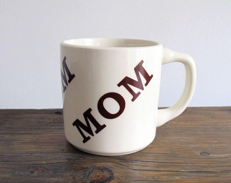 12 Mugs For Mother S Day: Vintage Mom Mug 1970s Houze Coffee Mug