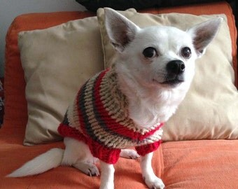 Bulky Dog Sweater - Mega Stripes (MG0207)