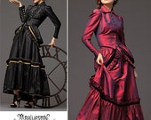 Simplicity Pattern 2207 - Steampunk Fashion Costume Sewing Pattern - Sz 14-16-18-20