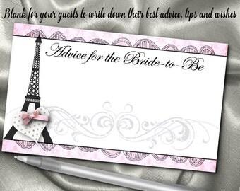 paris bridal shower  etsy, Bridal shower invitations