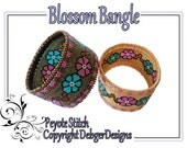 Blossom Bangle - Beading Pattern Tutorial