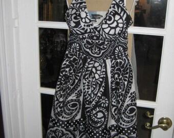 70's Cole of California Halter Dress Size 8