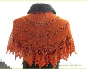 Acanthus, Knitting PATTERN PDF