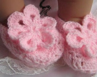 Crochet PATTERN - Flower - Pink Delight Flower Easy and Quick to make