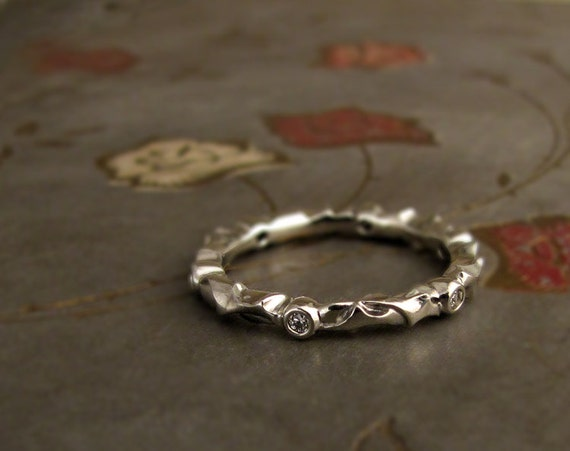 Thorny Eternity Band (14K) Made to Order