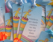 Dr Seuss Baby Shower Bookmarks