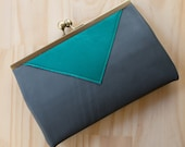 SALE ! Purse or Bag with Triangle Feature and Removable Strap - Holds Everything And More!