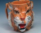 Handmade Tiger Mug