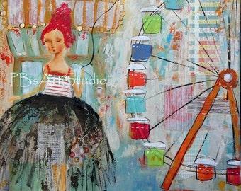 Kisses For Sale- Canvas Prints
