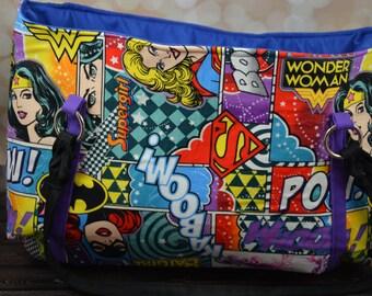 DC Girl Power Hobo Bag
