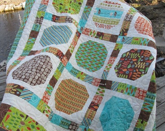 S'More Love Camping Fishing Lap Wall Quilt