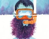 Enjoy the View - Snorkeling Fine Art Travel Print