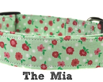 The Mia - Floral Dog collar