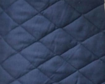 Quilted Ironing Board Cover Solid Blue- Reversible