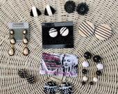 Wholesale Lot of Vintage Earrings 50s 60s 70s 80s 90s