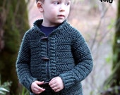 Crochet pattern, crochet childrens cardigan, boys cardigan, girls cardigan, cardigan for children, crochet, top down, zipper or button