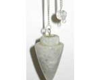 Rainbow Moonstone Pendulum, Metaphysical Crafts, Jewelry Making