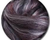 Poppy Seed Merino Silk Blend Ashford Sliver