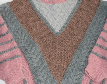Cool Hand Knit Vintage 80's Sweater- Size S