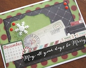 May All Your Days Be Merry - Christmas Greeting Card