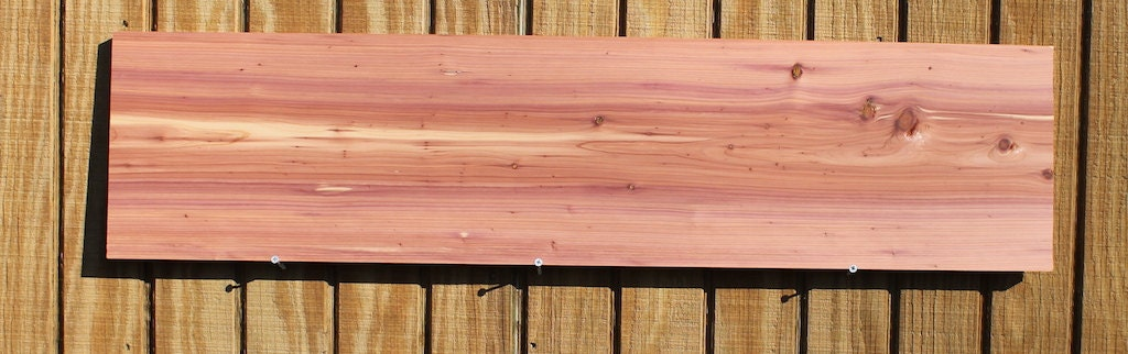 Aromatic eastern red cedar lumber for sale s2s 40l x by for Decking planks for sale