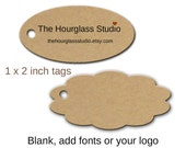 Custom tags 0117 Blank tags, Product tags. Price tags, Oval tags, Scallop tags, Gift tags, Jewelry tags, Clothing tagstags