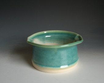 Hand thrown stoneware pottery bowl  (B-Q1)