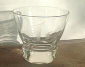Vintage Eva Zeisel Glasses - Monogrammed L - Lo-Ball - Set of 4