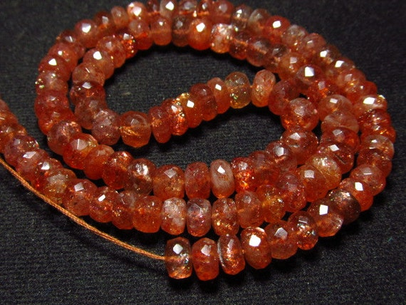 AAAA - High Quality - Natural Golden - SUNSTONE - Micro Faceted