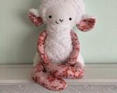 White Lambie Stuffed Animal
