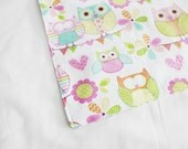 Owls Waterproof Changing Pad - small