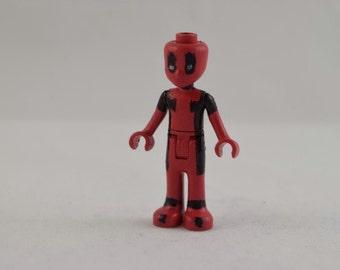 Custom LEGO Friends Marvel's Deadpool Minifigure