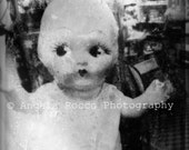 Creepy Baby Doll 2015 Series Part One 8X10 Print, Mat, Back and Bag