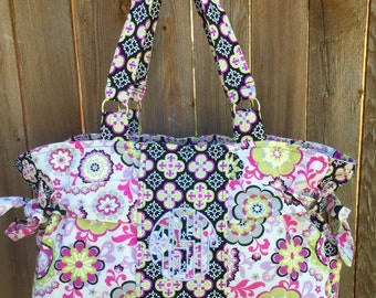 The personalized Emiley - Fabric Tote/Purse/Handbag/Weekender