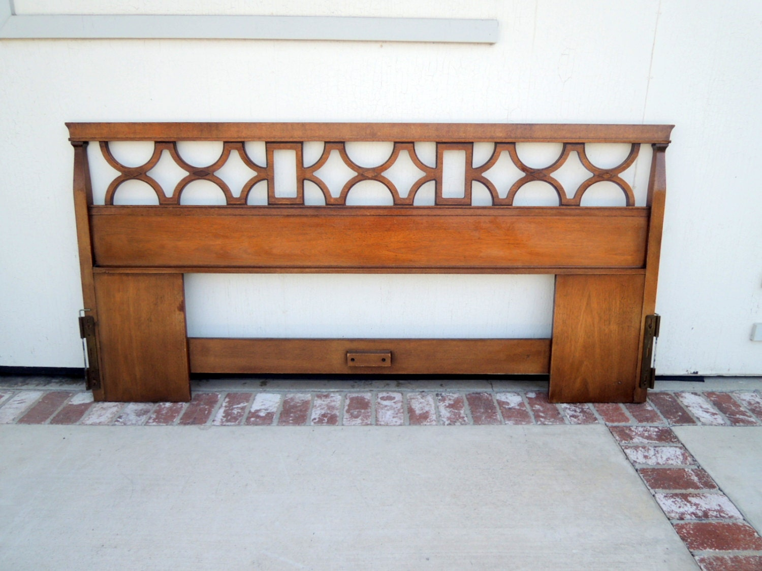 MID CENTURY MODERN King Size Headboard Los Angeles Haute Juice