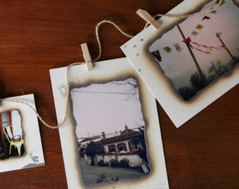 4 x 6 Photo Frames Burn - 9 sheets (7.3 x 5.1in)