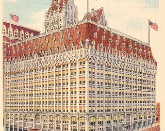 Union Trust Company of Pittsburgh Vintage Postcard from the 1940s