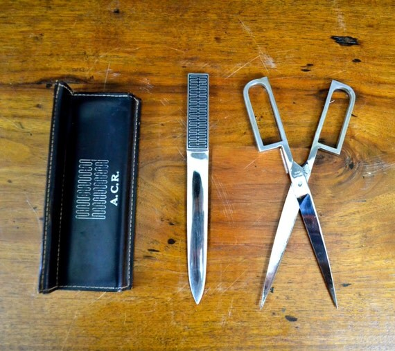cool letter openers items similar to cool vintage solingen letter opener set 20961 | il 570xN.693295894 oalf