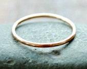 Thin Gold Stacking Ring