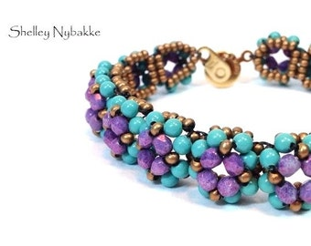 Muffin Tops  Bracelet   - pdf Instructions ONLY