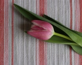 Vintage Swedish Handwovens: Parrot Tulip