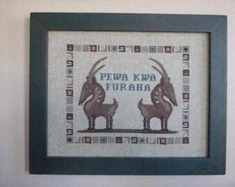 Swahili Welcome-Pewa Kwa Furaha