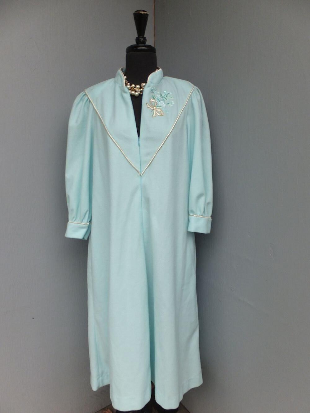 vintage robe flannel christian dior robe designer robe With robe christian dior