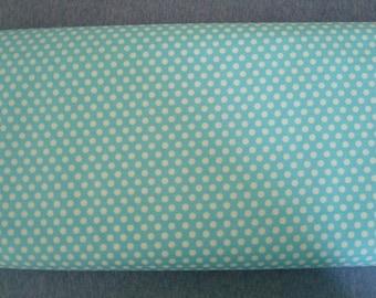 Aqua Kiss Dot Fabric by Michael Miller - 1 Yard